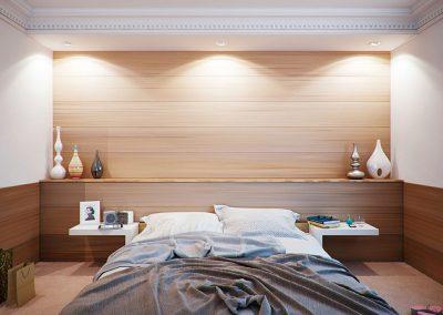 Chambre à coucher zen